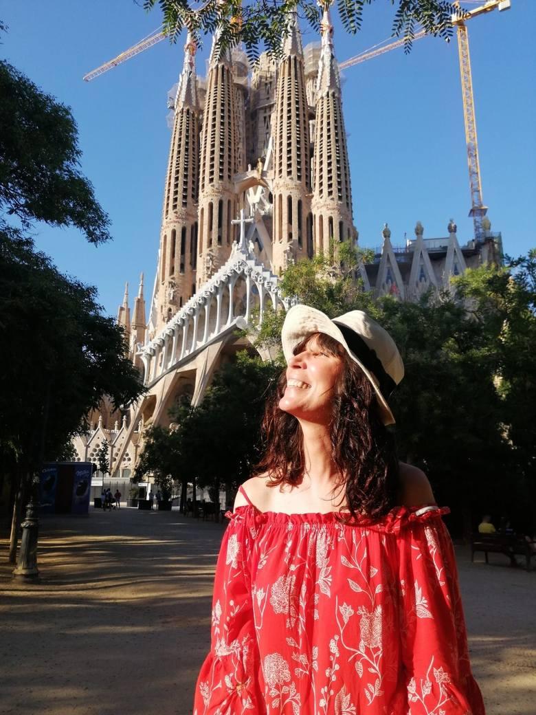 Agata Sosnowska, przewodniczka po Barcelonie