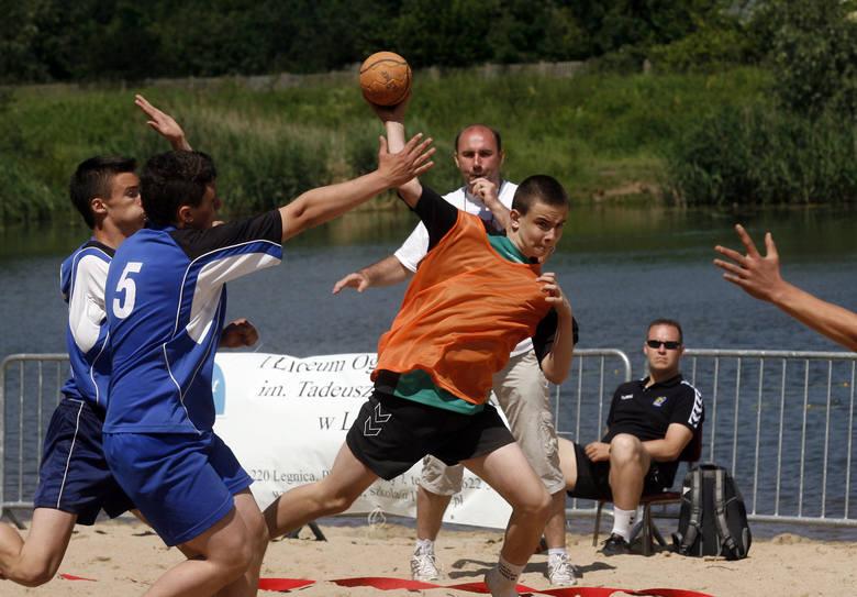 Piłka ręczna plażowa
