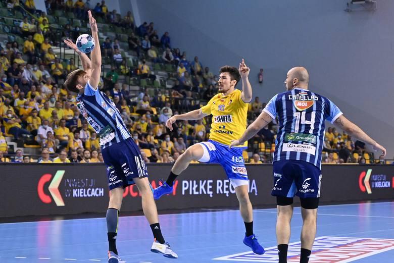 W pierwszym, rozgrywanym w tym sezonie w Hali Legionów meczu Ligi Mistrzów piłkarzy ręcznych, Łomża Vive Kielce pokonało węgierski MOL-Pick Szeged 26:23.