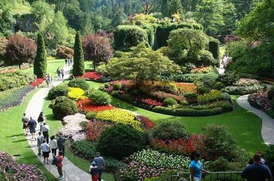 Miejsce 1. W stolicy Kolumbii Brytyjskiej - Victorii, która leży na wyspie Vancouver - znajduje się kolejny piękny ogród. Można go zwiedzać cały dzi