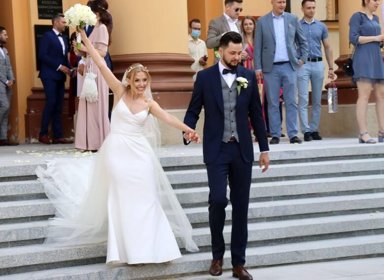 Bartłomiej Grzechnik, siatkarz Czarnych Radom poślubił piękną Nicolette (ZDJĘCIA)