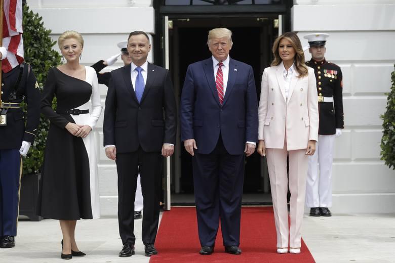 Wizyta Andrzeja Dudy w USA. Donald Trump: Nie martwi mnie stan demokracji w Polsce. Wyślemy do Polski tysiąc żołnierzy więcej
