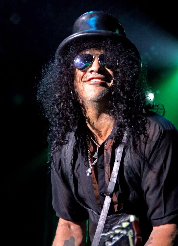 Slash koncertuje: eksplozja w Spodku