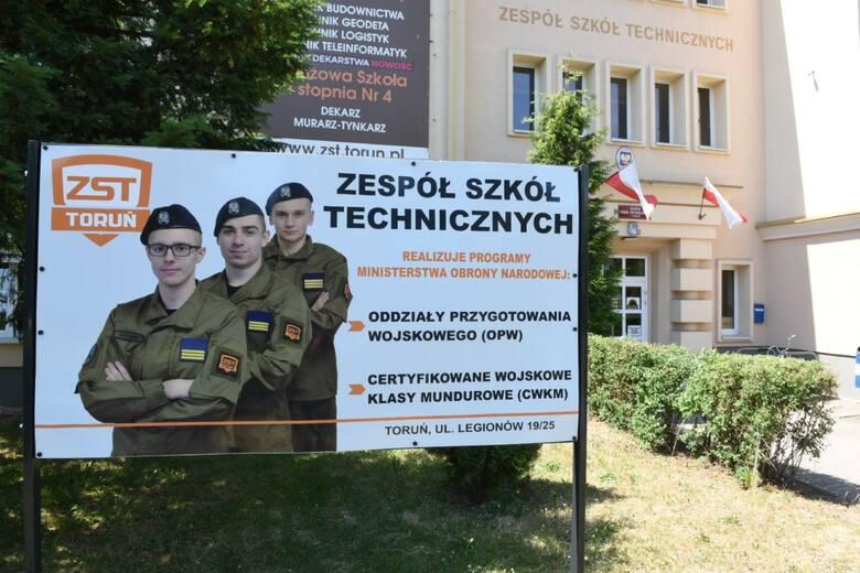 Jedyny oddział przygotowania wojskowego pod patronatem MON działa w Zespole Szkół Technicznych