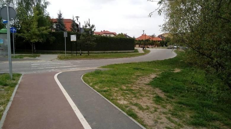 W powiecie wąbrzeskim ma powstać kolejna ścieżka pieszo-rowerowa. Na zdjęciu ścieżka w Wąbrzeźnie, od ulicy Pruszyńskiego do ulicy Żeromskiego