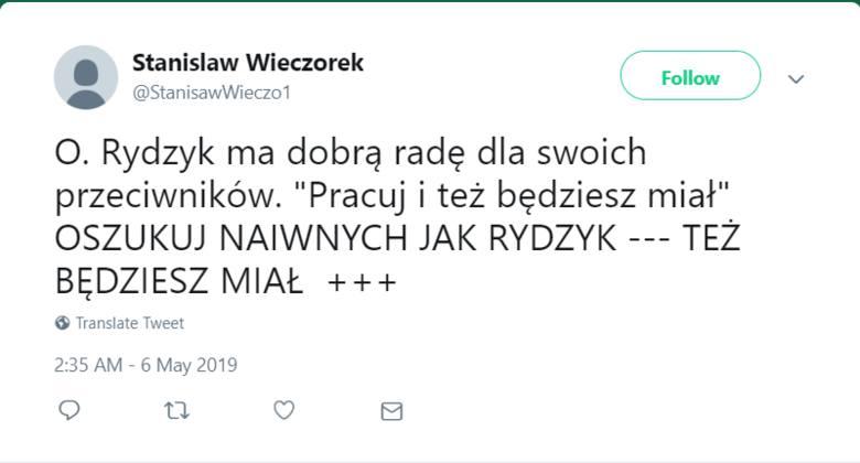 O. Rydzyk: Pracuj i też będziesz miał MEMY. Internet odpowiada: Złoty, a skromny. Tak internauci komentują radę Rydzyka