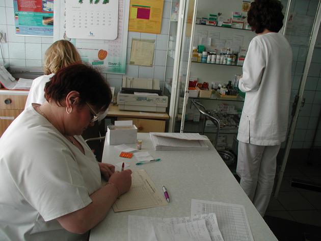 Ewakuacja szpitala w Świętochłowicach z powodu grypy AKTUALIZACJA
