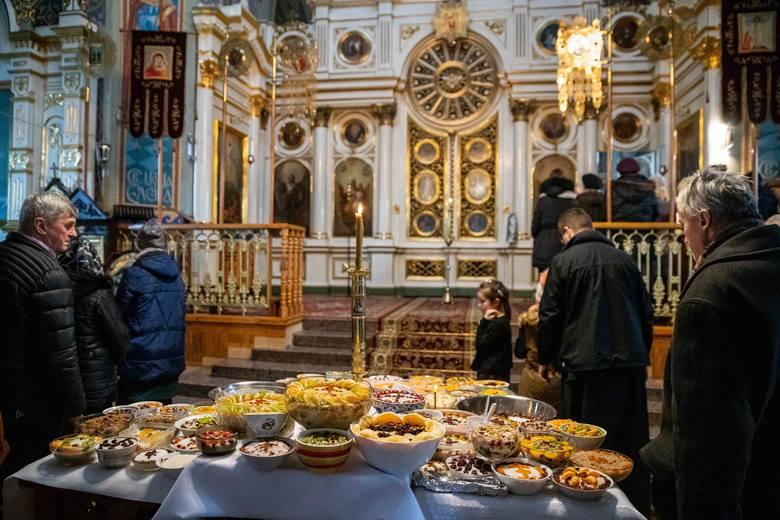 Liturgia uprzednio poświęconych Darów w Soborze św. Mikołaja Cudotwórcy w Białymstoku