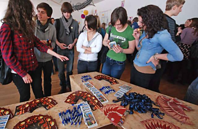 Uczniowie z Angers we Francji odwiedzili Toruń