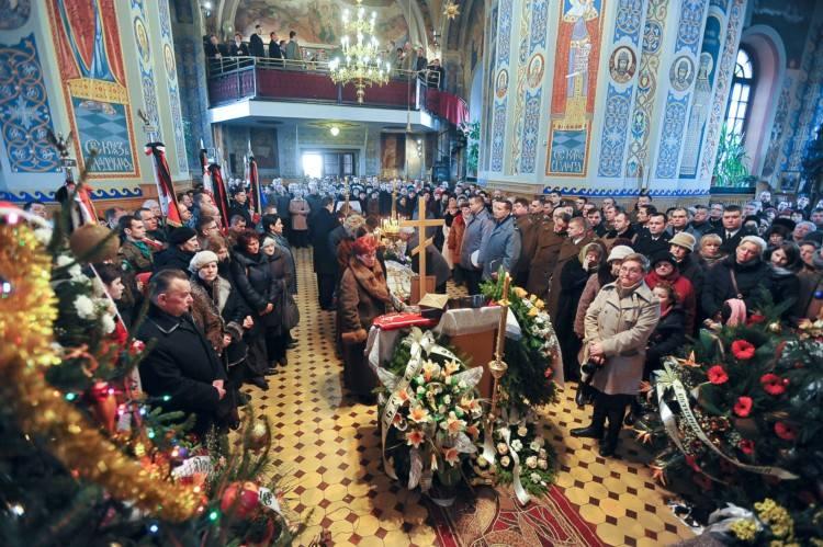 Ks. Igor Siegień - nabożeństwo pogrzebowe (zdjęcia)