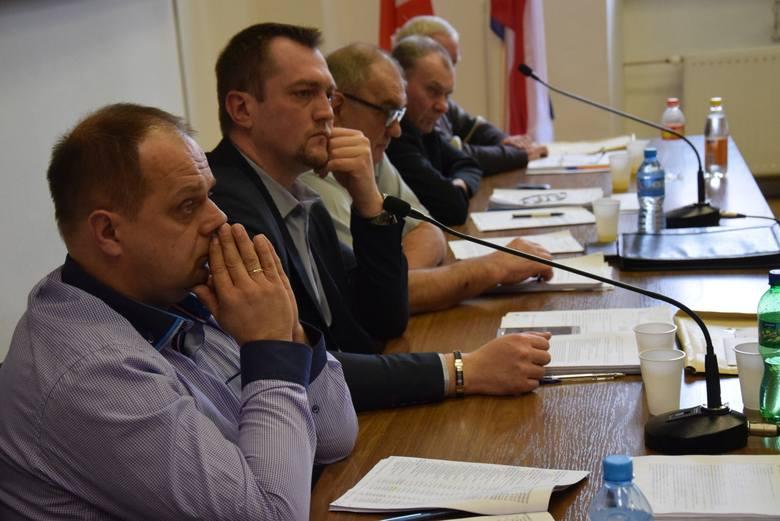 Sesja rady miejskiej w Byczynie w poprzedniej kadencji.