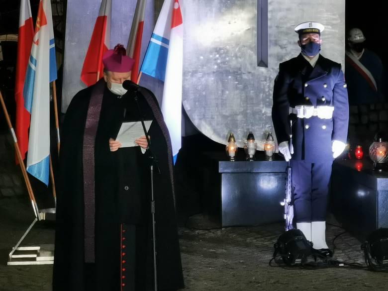 50. rocznica czarnego czwartku w Gdyni. 17.12.2020 r. Obchody wydarzeń Grudnia '70
