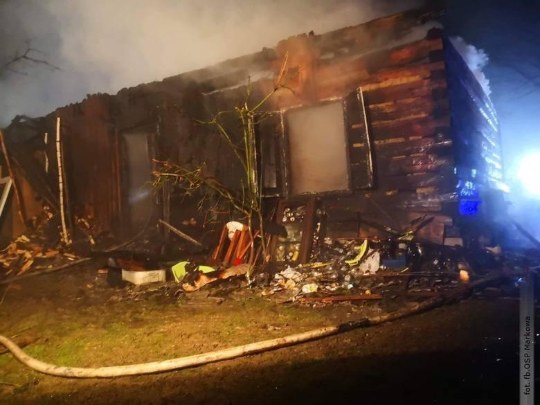 Około godziny 2:30 KPP Straży Pożarnej w Łańcucie dostała informacje o pożarze budynku gospodarczego w Albigowej. Dopiero drugi telefon od zgłaszającego