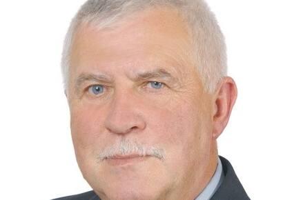 Wójt gminy Krasiczyn Tadeusz Bobek.