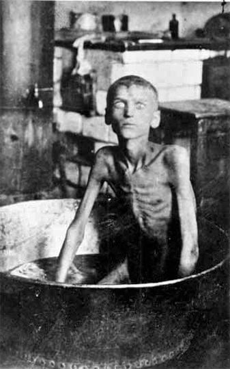 Chłopiec ze wsi pod Zaporożem. Z głodu zabił i zjadł brata