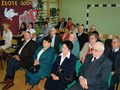 Medalami uhonorowani zostali: Waleria i Waldemar Jan Kozerowie ze Słaboszowa, Helena i Edward Matiasowie ze Święcic, Weronika Leokadia i Józef Michtowie,