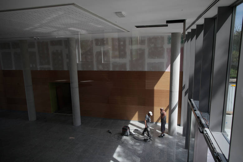 18.08.2017 opole<br /> uniwersytet opolski - wydzial prawa budowa remont<br /> fot. slawomir mielnik / nowa trybuna opolska<br />