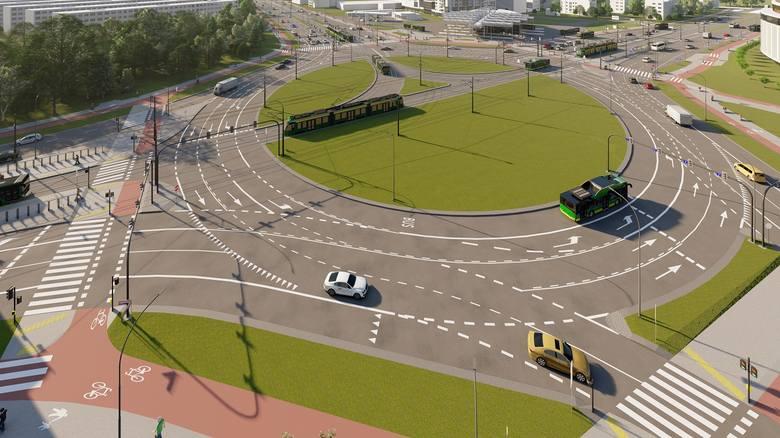Przebudowa ronda Rataje rozpocznie się w poniedziałek, 17 sierpnia. Pasażerów i kierowców czekają prawie 2 lata utrudnień. Zakończenie remontu planowane