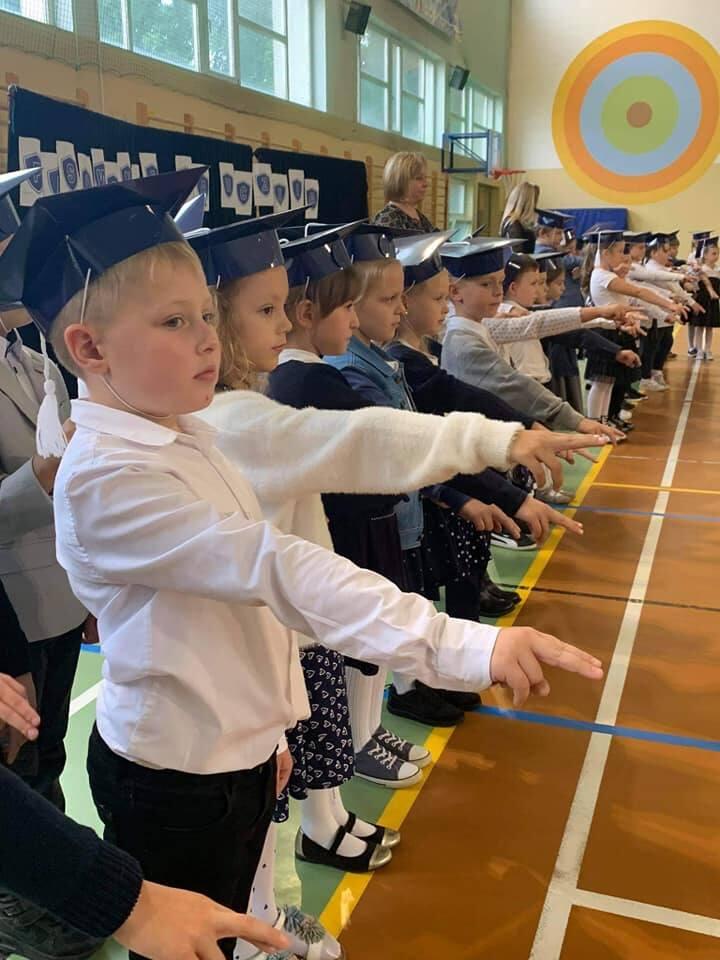 Pasowanie na pierwszaka w Szkole Podstawowej nr 1 w Sulechowie