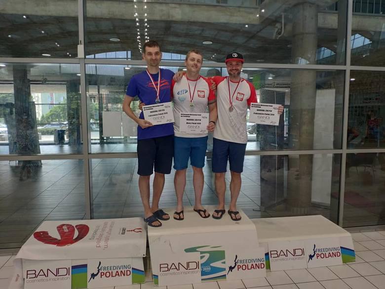 Marcin Baranowski z UMB został wicemistrzem Polski w Freedivingu [ZDJĘCIA]