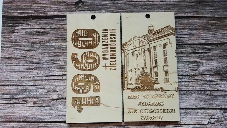 Medal dla uczestników biegu z okazji 58. Rocznicy Wydarzeń Zielonogórskich 1960.