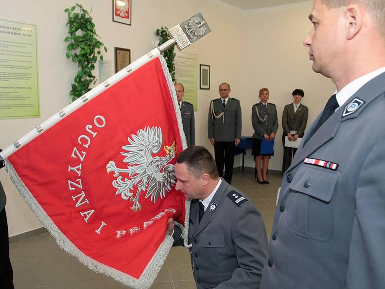 Zamiana komendantów policji w Grudziądzu [zdjęcia]