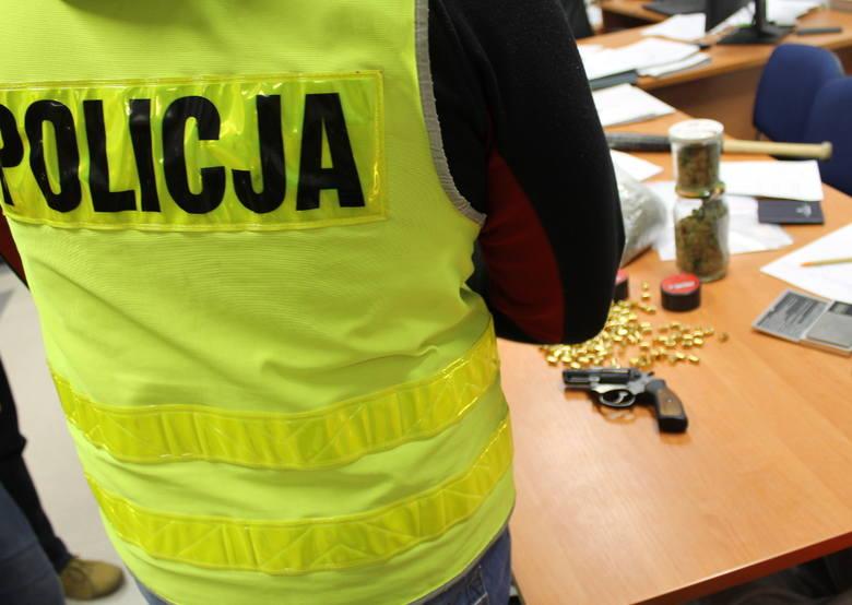 policja narkotyki broń