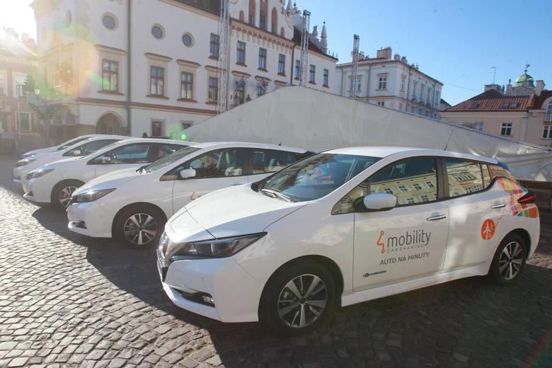 Elektryczne samochody na minuty od dziś w Rzeszowie [ZDJĘCIA]