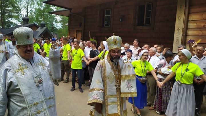 Na Świętej Górze Grabarce k. Siemiatycz odbywają się dzisiaj główne obchody prawosławnego święta Przemienienia Pańskiego. Głównym uroczystościom przy
