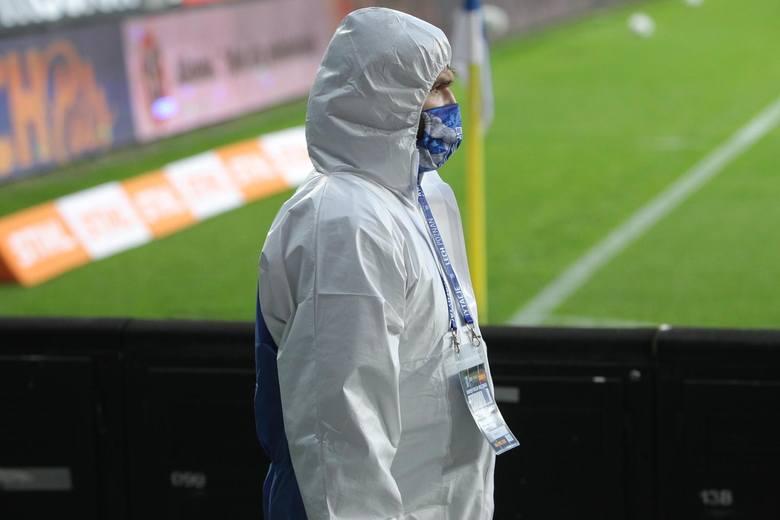 Taki widok na poznańskim stadionie nie powinien nikogo dziwić