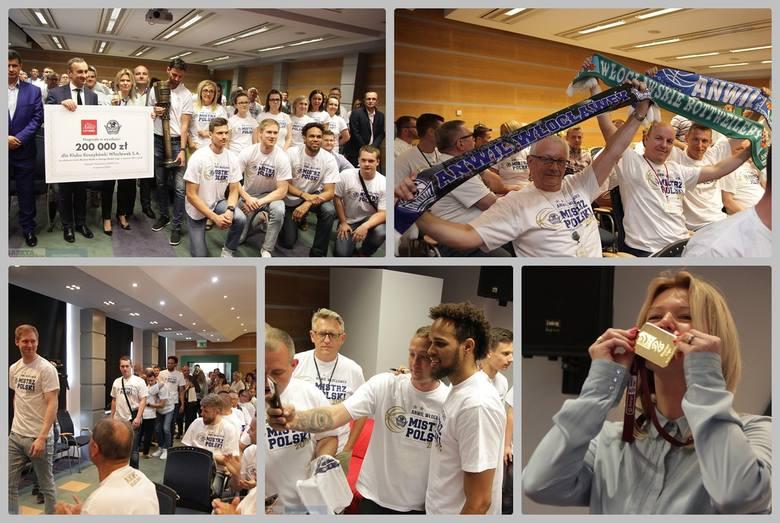 W piątek zawodnicy drużyny Anwil Włocławek spotkali się z zarządem i pracownikami firmy Anwil SA. Zawodnikom towarzyszył trener Igor Milicić oraz zarząd