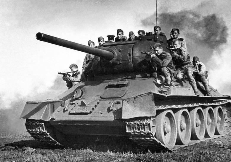 Sowiecki czołg T-34