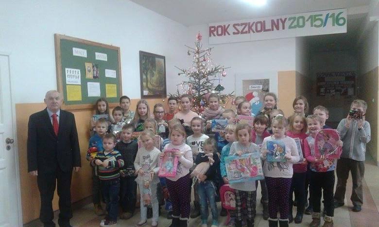 W Szkole Podstawowej w Raciążu odbyło się podsumowanie konkursu ekologicznego polegającego na zbiórce surowców wtórnych. W zbiórce wzięło udział prawie
