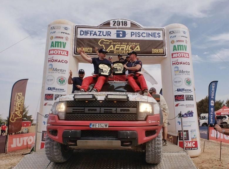 Polski filantrop i finansista Robert Szustkowski planuje start w Dakar Race 2020