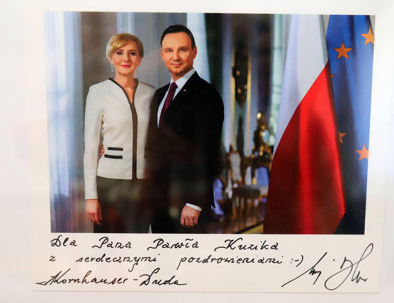 Paweł Kuzik, łódzki projektant pierwszej Damy