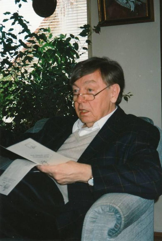 Heinz Piontek w 1997 roku.