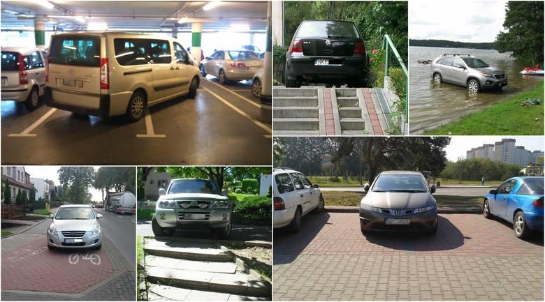 Mistrzowie parkowania 2020 w Trójmieście i na Pomorzu. Janusze parkowania, łosie na drodze, czyli jak nie parkować! [zdjęcia]