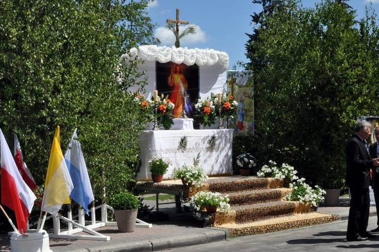 Maków Maz. Procesja Bożego Ciała w parafii pw. św. Józefa [ZDJĘCIA]