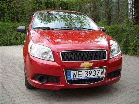 Chevrolet aveo 1,2 l 82 KM: Samochód budżetowy