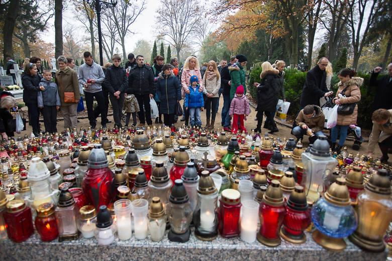 Słupskie cmentarze - Wszystkich Świętych