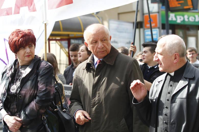 Profesor Bogdan Chazan był twarzą Marszu dla Życia i Rodziny, który w maju tego roku w Rzeszowie zorganizowały środowiska pro-life