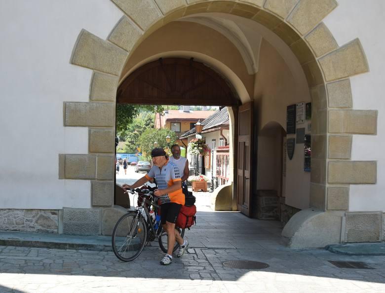 Połączyliśmy modę na rower i modę na Stary Sącz