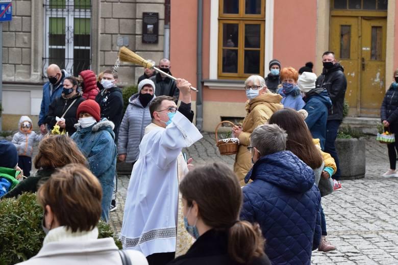 Święcenie pokarmów w parafii katedralnej w Bielsku-Białej
