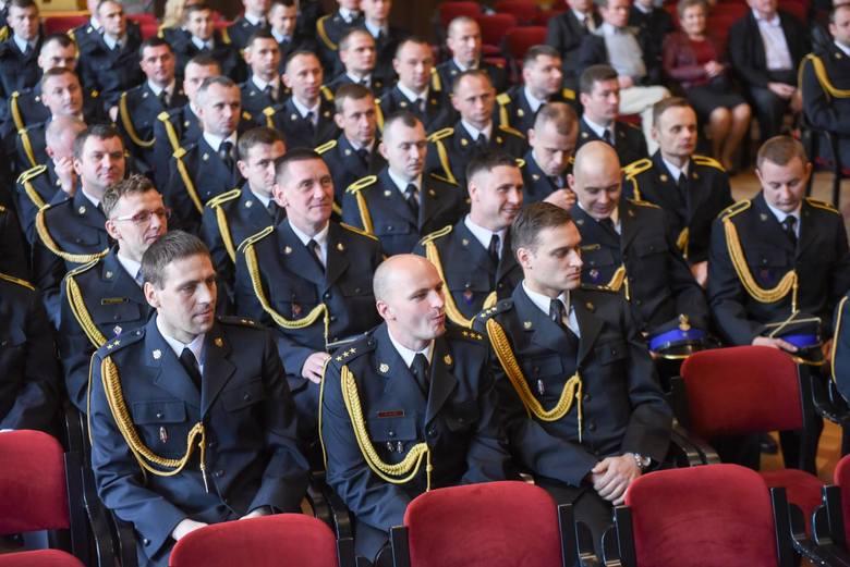 Wczoraj w Dworze Artusa Komenda Miejska Państwowej Straży Pożarnej świętowała Dzień Strażaka