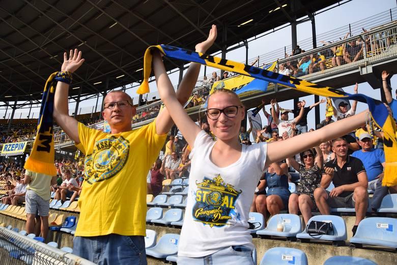 """""""Stal-Go-rzów! Stal-Go-rzów"""" niosło się wielokrotnie w niedzielne (9 sierpnia) popołudnie na stadionie im. Edwarda Jancarza w Gorzowie. Tak kibice żółto-niebieskich"""