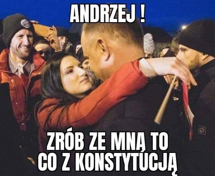 Andrzej Duda i Jolka Rosiek to źródło memów. Internauci znów tworzą memy z prezydentem. Czy Andrzej Duda ma psychofankę? [22.02.2020 r.]