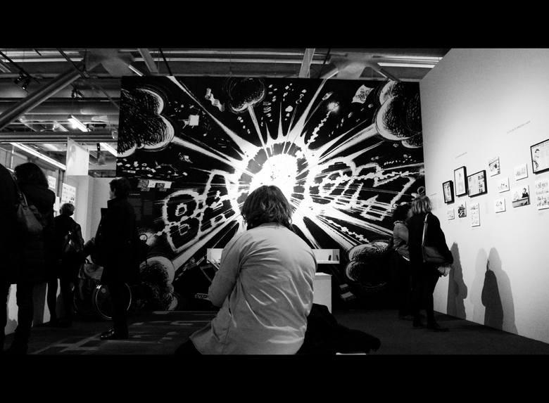 """Biblioteka w Centrum Pompidou - wystawa poświęcona serii belgijskiego komiksu André Franquina pt. """"Gaston"""". W tym roku przygody nieporadnego pracownika paryskiego magazyny """"Spirou"""" obchodzą swoje 60-lecie. Do historii komiksu obok splapstickowego humoru, przeszły przede wszystkim eksplozje..."""