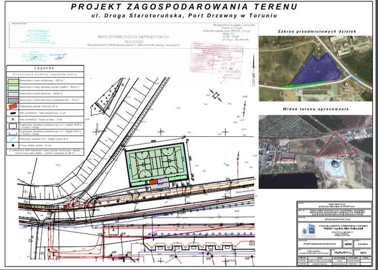 Zostanie wybudowane przy ulicy Starotoruńskiej