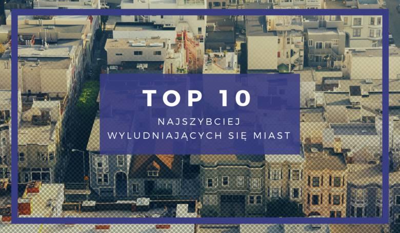 Najszybciej wyludniające się miasta w Polsce