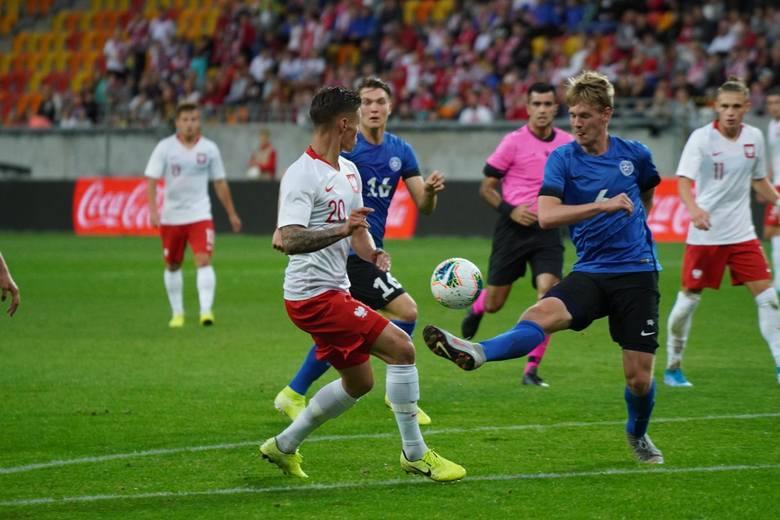 Reprezentacja Polski do lat 21 pokonała Estonię 4:0 w meczu eliminacji mistrzostw Europy